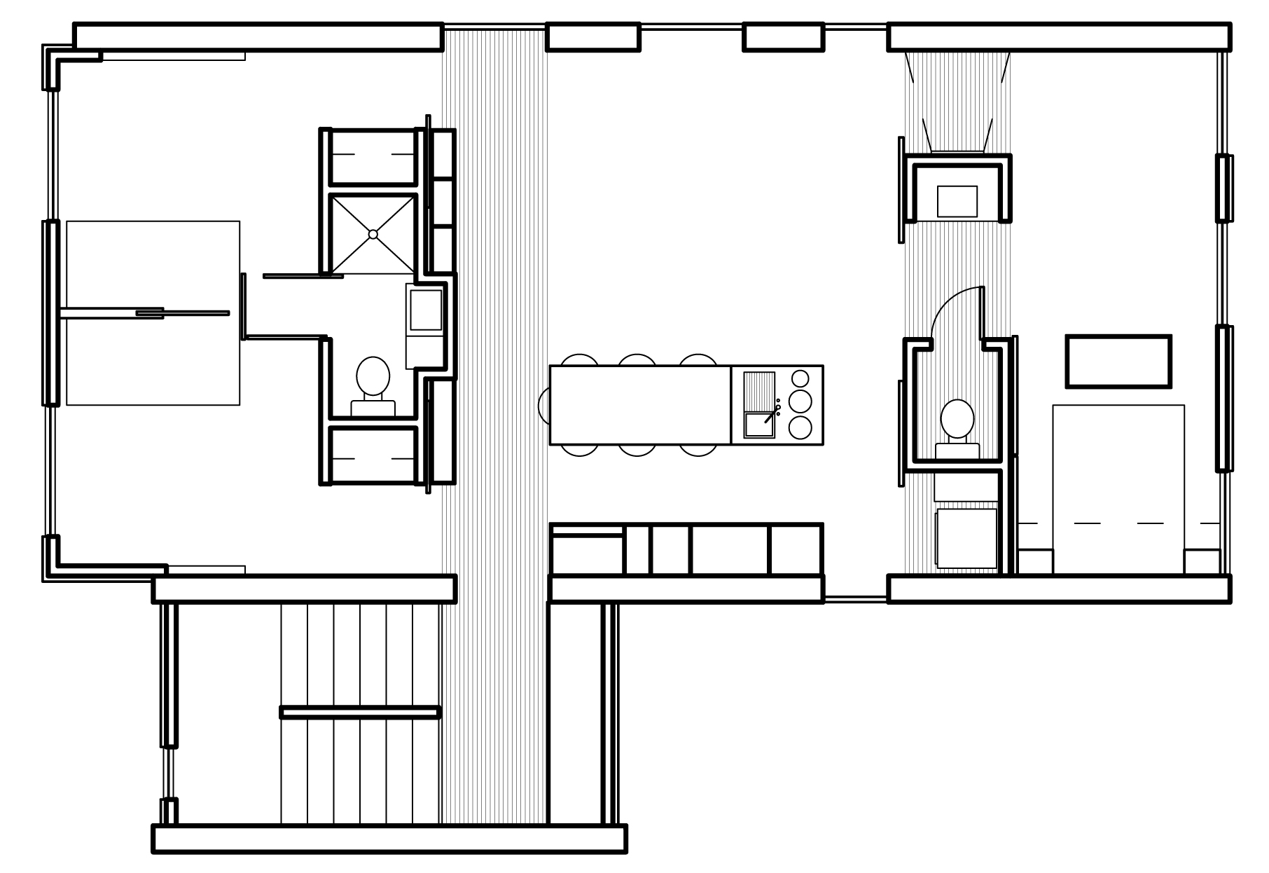 Modern house plans contemporary home designs floor plan 01 for Modern floor plans