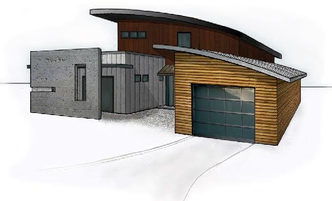 29 1495 Modern home plan