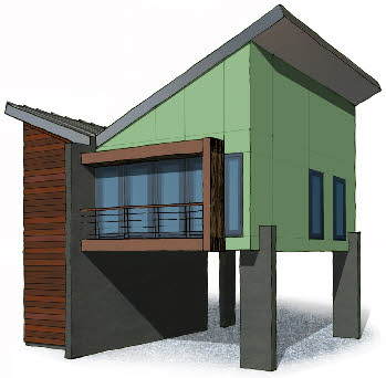 cool modern house plans - Small Modern House Plans