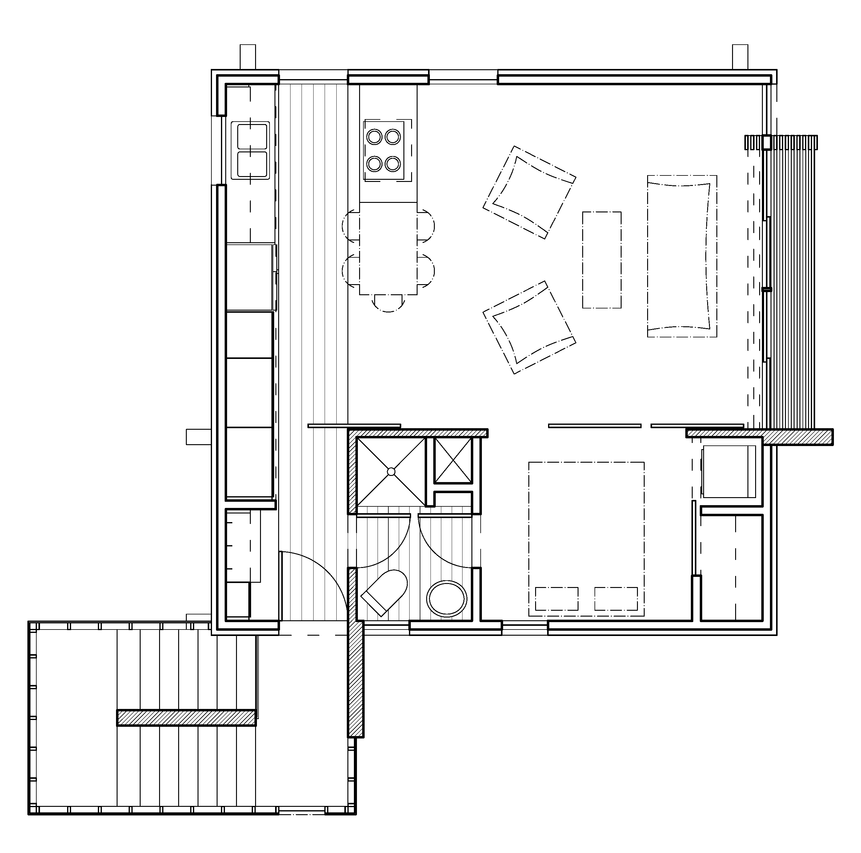 Modern house plans contemporary home designs floor plan 04 for Contemporary house floor plans