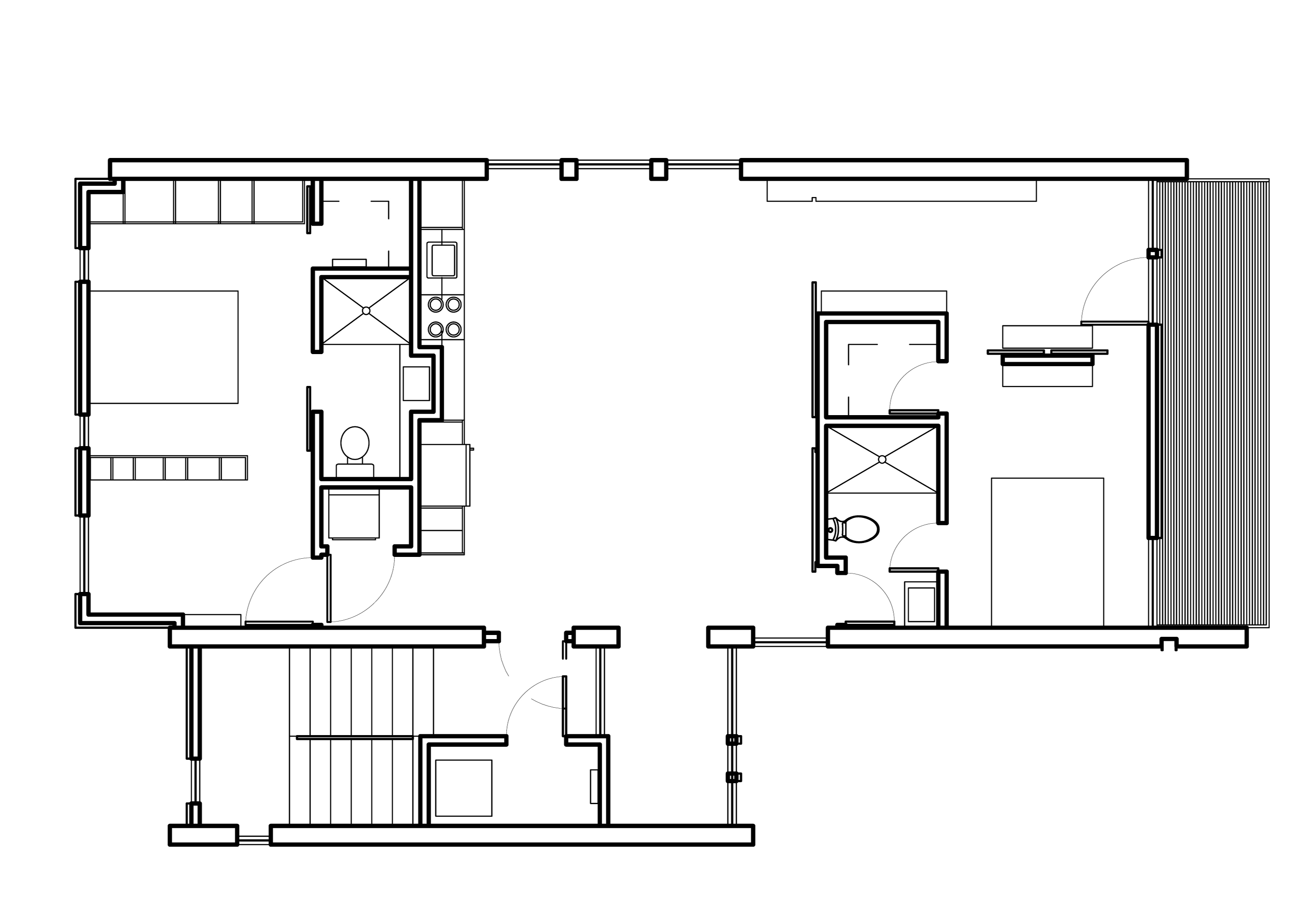Modern house plans contemporary home designs floor plan 02 for Modern floor plans